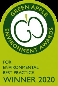 Green Apple Award 2020 Winner logo